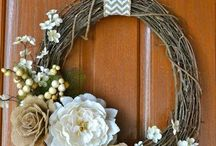 Wreaths / by Candyce Holverson