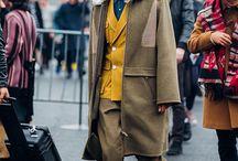 Male long coats