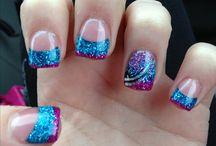 easy peasy nail art!!