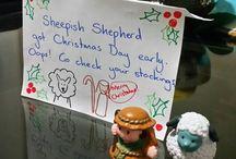 Sheepish Shepherd Christmas