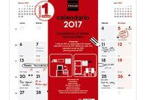 Librería Roy. Calendarios 2017