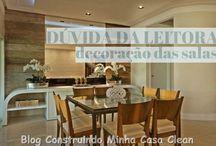 Dúvida dos leitores / Veja + Inspirações e Dicas de decoração no blog!  www.construindominhacasaclean.com