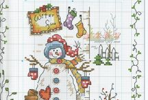 cross Stitch winter