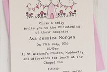 Christening Invitation Ideas