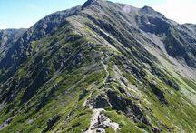 間ノ岳(南アルプス)登山 / 間ノ岳の絶景ポイント 南アルプス登山ルートガイド。Japan Alps mountain climbing route guide