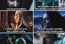 The hobbit/ Lord of the rings