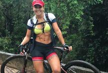 cycling girls