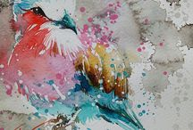 pinterest peinture aquarelles