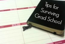 Grad school and career / by Alison M