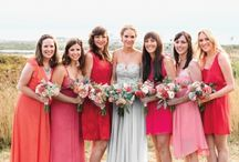 Coral Weddings / Wedding ideas and dresses in shades of coral pink and orange