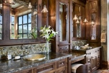 Bathrooms / Im getting ready to remodel my bath.. this should give me some ideas. / by Julie Snowdy