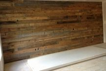 Brown Grey Barnwood Accent Walls