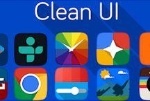 حول هاتفك الى ايفون بشكل كامل عبر هذه التطبيق الرائع - ثيمات ايفون للتحميل - شرح تطبيق cleanUI