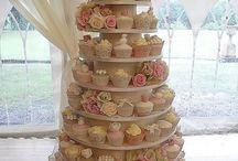 Cupcake tower matrimonio