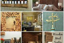 rustieke huis inrichting hout
