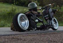 Utcai motorok