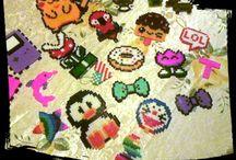 °My pyssla/hama beads creation°