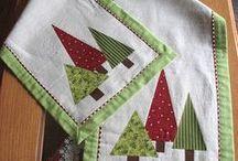 Karácsonyi patchwork