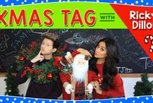 Ugly Christmas  Sweatshirt / Shay Mitchell is rocking our Ugly Christmas Sweatshirt in her recent Christmas YouTube video with Ricky Dillon!  Shop the sweater now: http://www.roots.com/ca/en/women/tops/sweatshirts-and-hoodies/