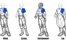 Scifi uniforms