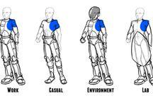 Scifi uniforms