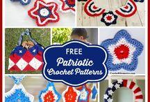 4th July Patriotic Crochet & VARIOUS / by Shelly Spradlin
