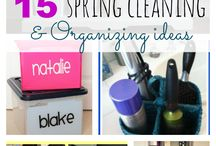Clean and Organized with The Taylor House / Need help tidying up and getting organized? These pins are perfect for you! Homemade cleaning supplies, organization tips and more from TheTaylor-House.com! / by Chrissy {The Taylor House}