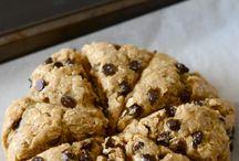 Breakfast cookies and scones