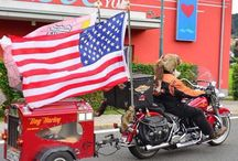 Harleysite #harleysite #oldschool #hd #harley #dog #harleyrider #flag #usaflag #flags #pictureoftheday