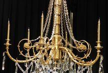 Varennes chandelier bronze
