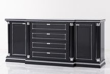 Furniture Range Piato / The furniture range Piato offers classic elegance at its best, available as cabinet, sideboard, chest of drawers, dressing table, nightstand and desk.