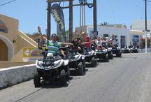 ATV Adventures / Touring Santorini island with Jimmy's Car Rental ATVs