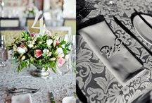 Paper Goods for Pretty Tables / Table numbers, menus, place cards, paper decor, etc for weddings/events.