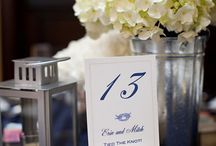 Table Numbers / by Toni Chandler Flowers & Events