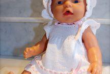 Strikkeoppskrifter Baby Born