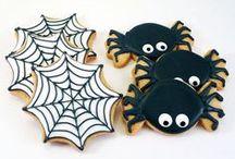 Cookies Halloween / Fantásticas y originales #cookies #galletas inspiradas en la festividad de #Halloween ¡Para que te inspires!