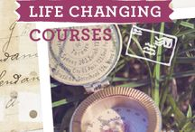 Life Changing Courses / Inspiring courses, pictures and resources of inspiration for creating the life of your dreams.