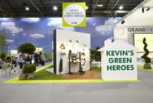 The Rag and Bone Man's Green Hero Stand at Grand Designs 2013
