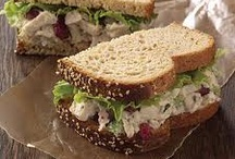 Delightful variety of sandwiches