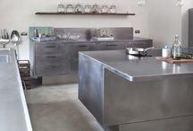 Vårt nye stålkjøkken