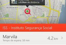 nav & map app