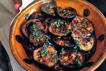 eggplant and chermoula
