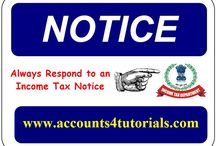 Income Tax / All about Income Tax Updates, E-Filing, Notifications, E-Returns, Tax Payments, Tax Refund Etc.,