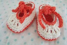 Baby shoes and hat