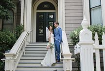Elegant Early Summer Wedding / Early Summer nuptials. Inspiration for wedding planning.