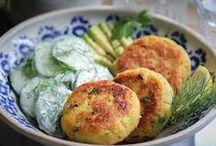 Kartoffel Couscous Taler