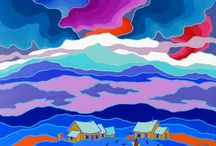 Yukon Art / Yukoner Art on Pinterest :)