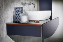 Bathroom Storage Ideas / Stylish and practice bathroom storage units from Utopia Bathrooms.