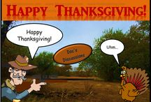 Thanksgiving / Happy Thanksgiving to all those who celebrate it.