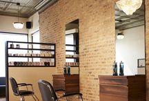 Salon inspiration / Ideas for refurbishing salon